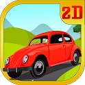 Up Mountain Hill Climb Racing icon