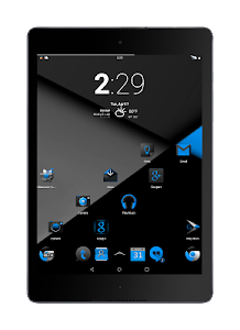 Blak Azurro  CM12-13 Theme screenshot 8
