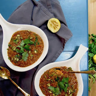 Vegan Red Lentil Stew.