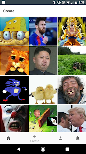 Meme Creator/Viewer - náhled