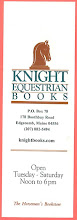 Photo: Knight Equestrian Books