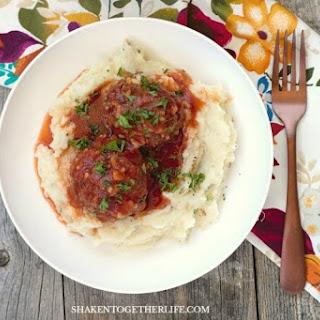 Classic Porcupine Meatballs (Beef & Rice Meatballs).