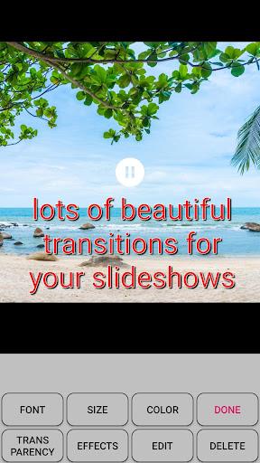 Slideshow with photos and music screenshot 4