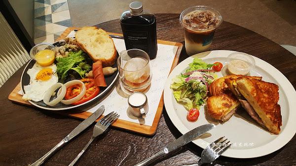 奎克咖啡。台中早午餐。供應全日輕食。咖啡香醇創意口感