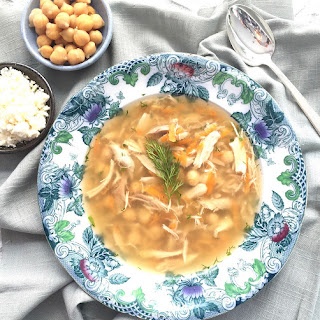 Greek Orzo Chicken Soup
