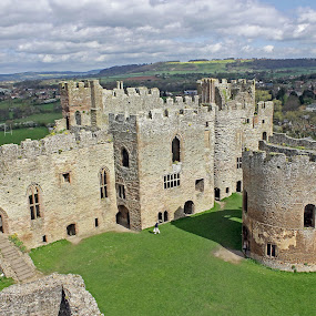 Ludlow Castle Chapel And Great Hall by Tony Murtagh - Buildings & Architecture Public & Historical ( history, castle, historical, shropshire, ludlow,  )