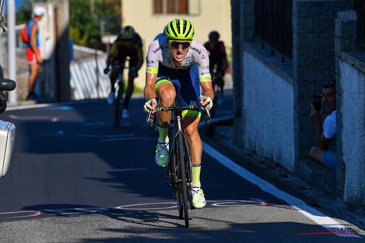 """Belg van Circus-Wanty Gobert reed 6 km voor de meet nog voorop: """"Alaphilippe en Van Aert flitsten me voorbij"""""""