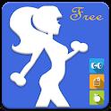 Smart Female Workout Free icon