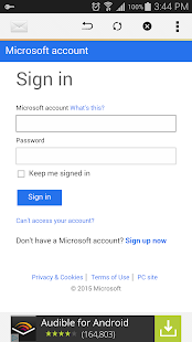 Access for Outlook to Hotmail - náhled