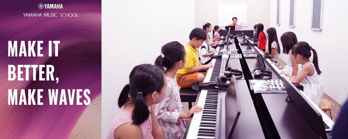 học chơi piano cho bé