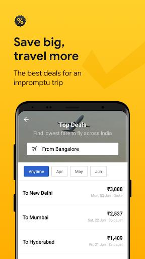 Cleartrip - Flights, Hotels, Train Booking App screenshot 5