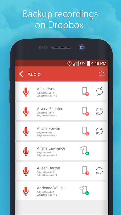 Auto Call Recorder- screenshot