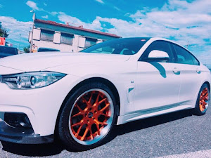 4シリーズ グランクーペ  420i M sport のカスタム事例画像 ⋆ かず⋆ さんの2018年08月25日09:54の投稿
