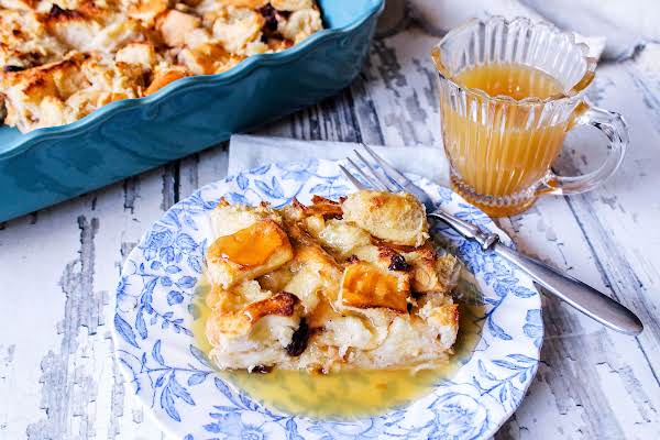 Shyla's Bread Pudding With Buttery Bourbon Sauce Recipe