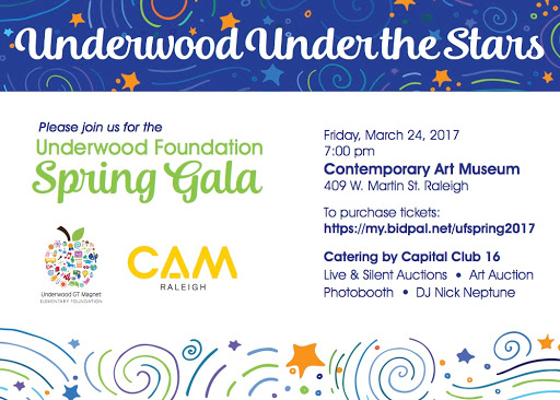 Join us for Underwood Foundation's spring gala!