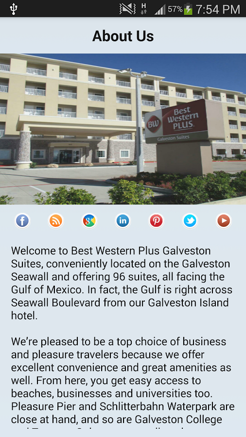 BW Plus Galveston Suites TX- screenshot