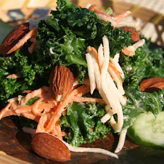 Seed Kitchen'S Original Kale Salad with Sesame Tahini Dressing Recipe