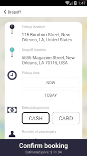 Nawlins Cab- screenshot thumbnail