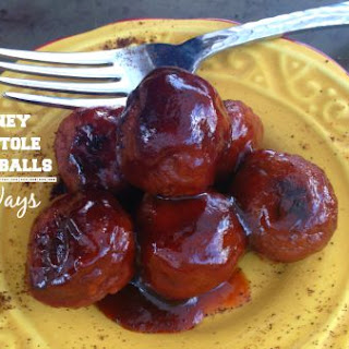 Honey Chipotle Meatballs - Three Ways