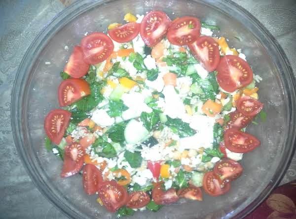 Mertzie's Tasty Brown Rice Salad