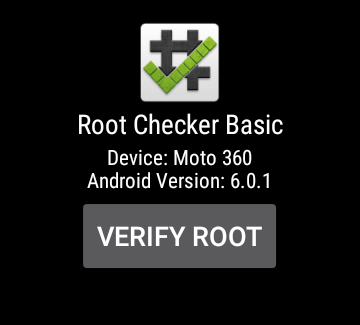 Root Checker – Screenshot
