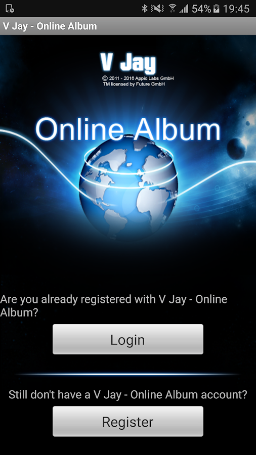 V Jay - Online Album- screenshot