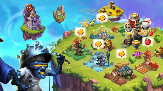 Monster Legends Mod Apk Download For Andoid and Iphone 5