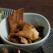 Toasted Pita with Olive Oil & Zaatar