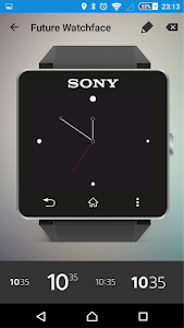 Future Watch face for SW2 Q9 screenshot 0