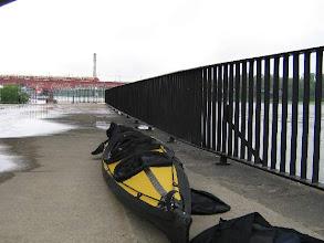 Photo: Aufbauen im erfrischenden polnischen Sommerregen