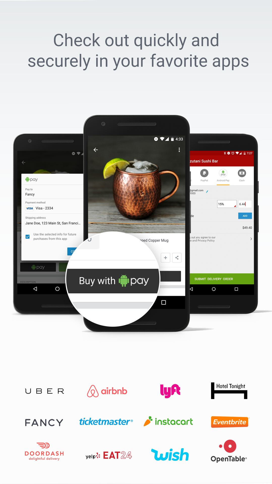 Android Pay screenshot #2