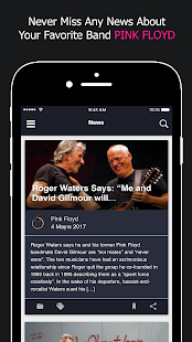 Pink Floyd News- screenshot thumbnail