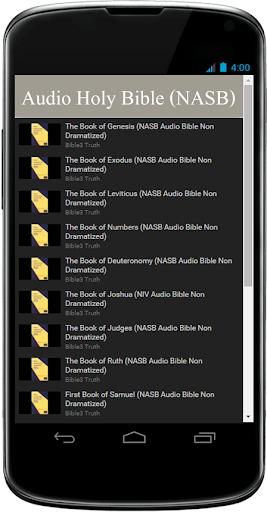 NASB オーディオ聖書無料