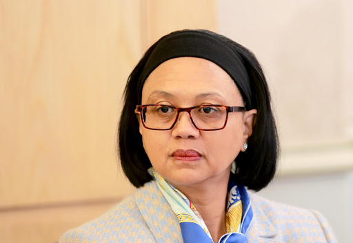 Energy Minister Tina Joemat-Pettersson. File photo.