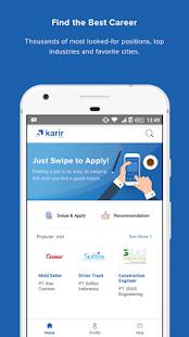 Karir.com - náhled