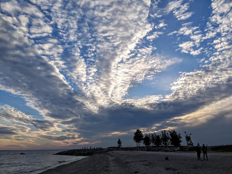 Sky by Erika  Kiley - Novices Only Landscapes ( dusk, sunset, beach, clouds )