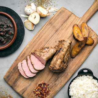 Mojo-Marinated Pork Tenderloin.