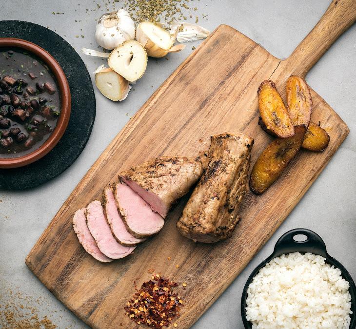 Mojo-Marinated Pork Tenderloin Recipe