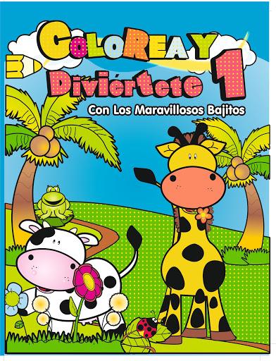 """Cuaderno Colorea Y Diviertete """"1"""" Colorea Y Diviertete"""