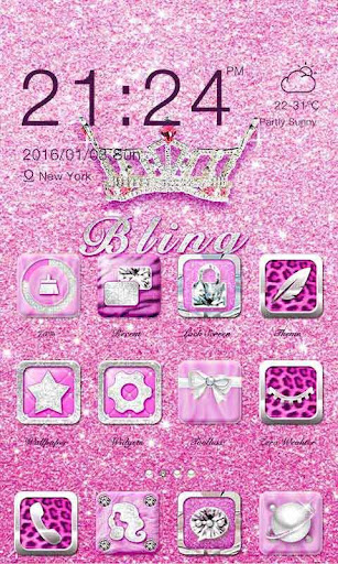 Bling Theme - ZERO Launcher