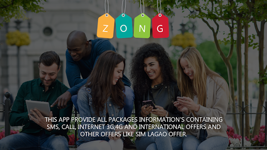 Zong Sim 3g/4g,Wingle,Sms and Call Packages - náhled
