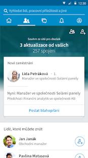 LinkedIn - náhled
