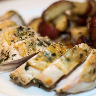 Rosemary and Thyme Roasted Chicken Breast.