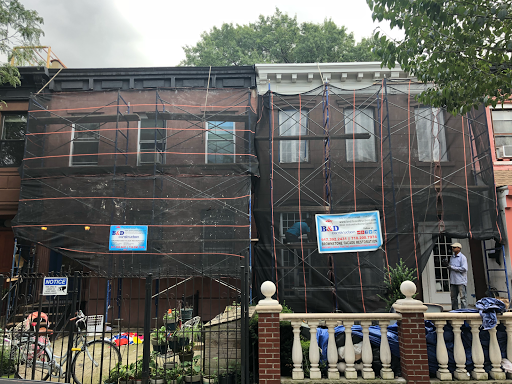 B&D Construction Brownstone Facade Restoration, Brick Pointing, Waterproofing, Masonry Contractors on Google