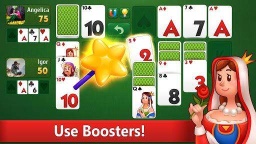 Klondike Solitaire: PvP card game with friends filehippodl screenshot 3