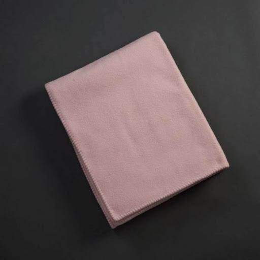John Atkinson Siesta Merino Wool Blanket Powder Pink