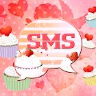 Cupcake Heart Theme GO SMS Pro icon