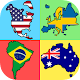 Flags of the World Continents - New Geography Quiz (game)