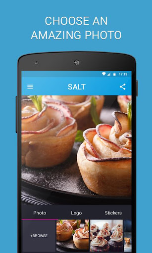 SALT - Watermark, resize & add text to photos  screenshots 1