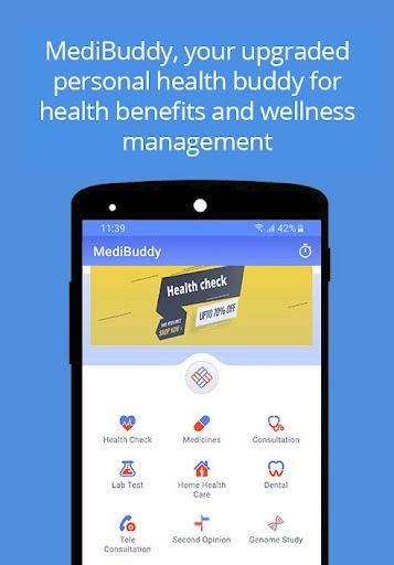 MediBuddy - Platform for Cashless Healthcare screenshot 2